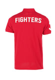 Polo Haus - Boxing Range - USA Fighters Collar Tee (Red)