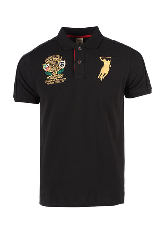 Polo Haus - Polo Union Supply S/S Collar Tee (Black)