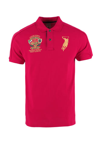 Polo Haus - Polo Union Supply S/S Collar Tee (Red)