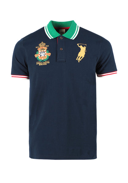 Polo Haus - Polo Authentic Tradition Union Made Collar Tee (Dark Blue)