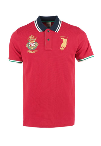 Polo Haus - Polo Authentic Tradition Union Made Collar Tee (Red)