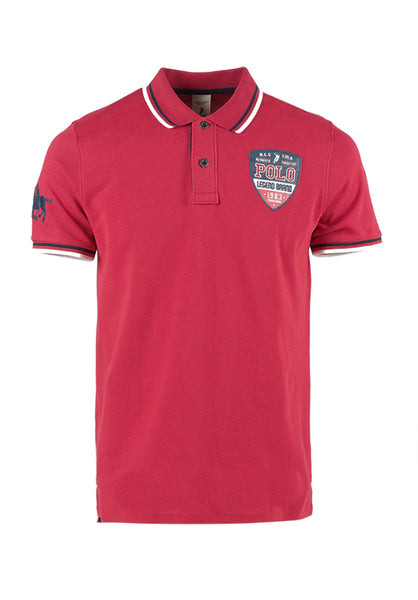 Polo Haus - Polo Legend Brand Collar Tee (Red)