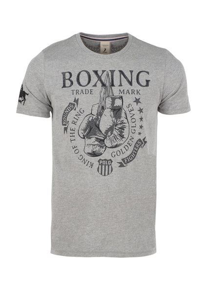 Polo Haus - Boxing Team RN Tee - Boxing (Grey)