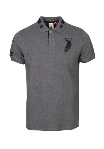 Polo Haus - 83 Authentic Design S/S Collar Tee (Grey)