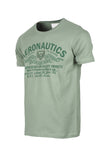 Polo Haus - Aeronautics Graphic S/S RN Tee (Green)