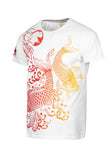 Polo Haus - Golden Carp Graphic Printed S/S RN Tee (Beige)