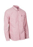 Polo Haus - Signature Oxford L/S Shirt With Pocket (Maroon)