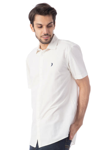 Polo Haus - Solid Color S/S Shirt (Beige)