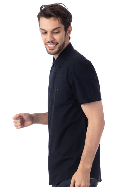 Polo Haus - Solid Color S/S Shirt (Black)