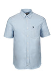 Polo Haus - Signature Oxford S/S Shirt With Pocket (Blue)