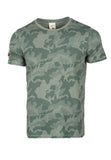 Polo Haus - Camouflage Printed S/S RN Tee (Green)