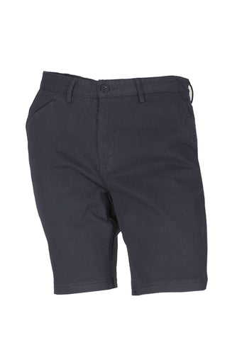 Polo Haus - Solid Color Chino Shorts (Dark Blue)