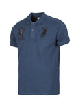 Polo Haus - Indigo - Heritage Design Collar Tee (Dark Blue)