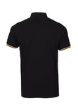 Polo Haus - USA Design Collar Tee (Black)
