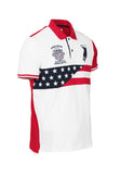 Polo Haus - Vintage Heritage USA Design Collar Tee (Red)