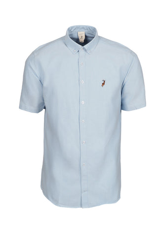 Polo Haus - Oxford Short Sleeve Shirt (Blue)