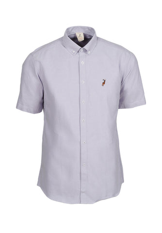 Polo Haus - Oxford Short Sleeve Shirt (Purple)