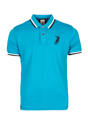 Polo Haus - Basic Collar Tee (Blue)