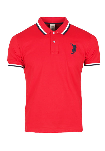 Polo Haus - Basic Collar Tee (Red)