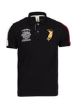 Polo Haus - Superior Performance Design Collar Tee (Black)
