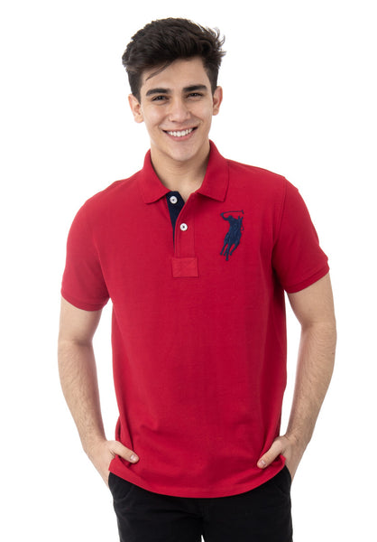 Polo Haus - Signature Logo S/S Collar Tee (Red)