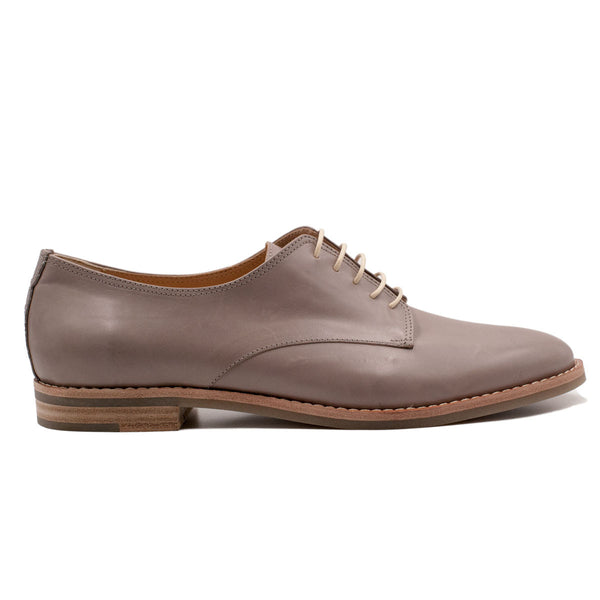Derby - Light Grey leather