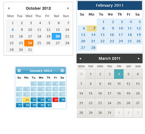 Add Styling & Colors to Shopify Calender