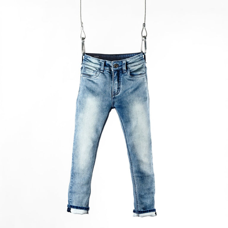 TYPE-S SKINNY JEAN - STREAM BLUE