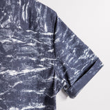 THE MARBLE - NAVY/WHITE