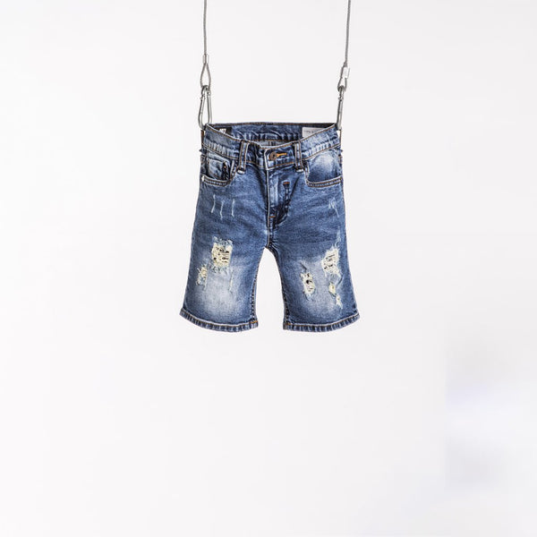 DENIM SHORT - RIPTIDE