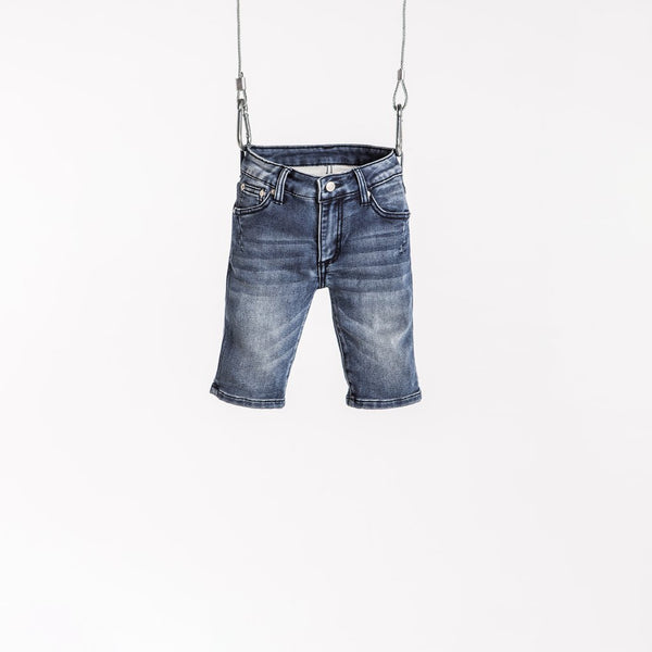 DENIM SHORT - HAZE