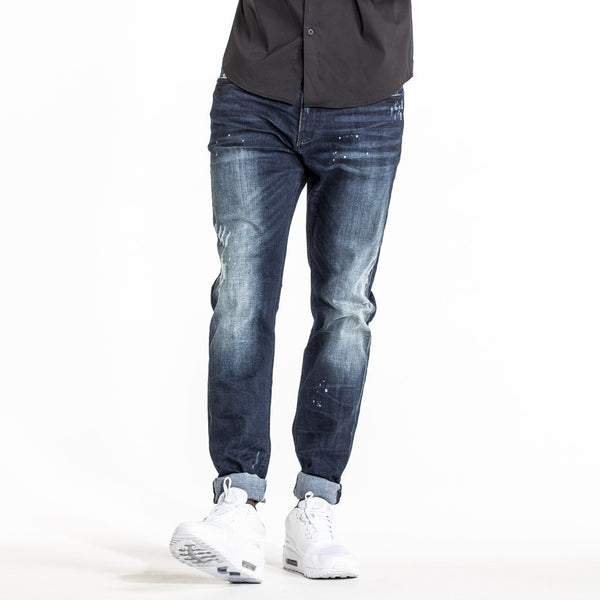 CR7 Denim Type-S Super Skinny - Rich Blue - front view