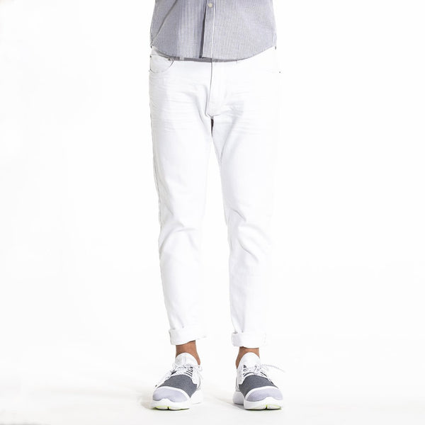TYPE-S Super Skinny Jean Alps White - front view