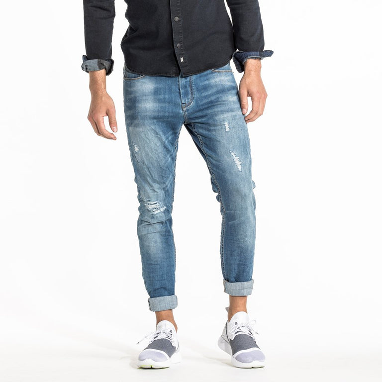 TYPE-C SLIM STRAIGHT JEAN - STILL WATER