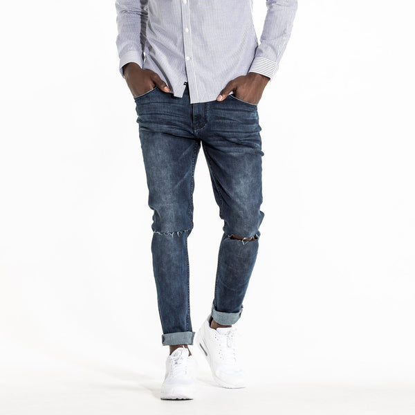 TYPE-S Super Skinny Jean Blue Shade - front view