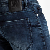 TYPE-S Super Skinny Jean Blue Shade - back pocket