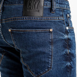 TYPE-C SLIM STRAIGHT JEANS - ADMIRAL