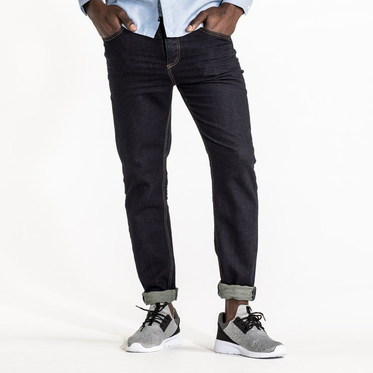 CR7 Denim Type-R Modern Straight - Rinse - front view