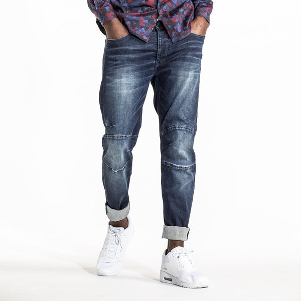 CR7 Denim Type-S Super Skinny - Dark Water - front view