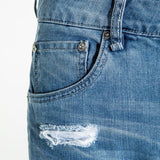 CR7 Type-T Tapered - Arctic - front pocket closeup