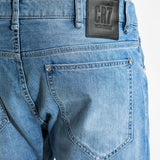 CR7 Type-T Tapered - Arctic - back pocket closeup