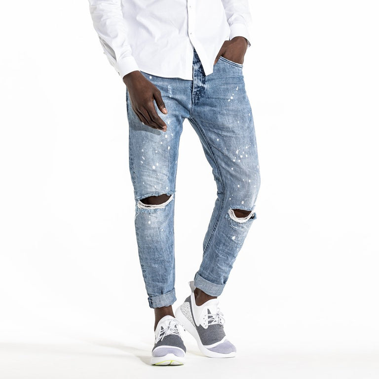 TYPE-T TAPERED JEAN - OCEAN SPRAY