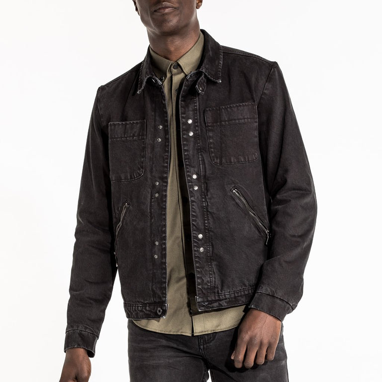 WORKMAN JACKET - EBONY