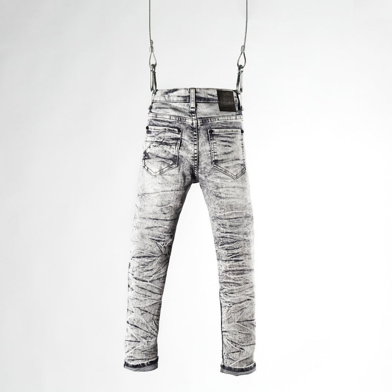 CR7 Junior Type-S Skinny Jean Stone - back view