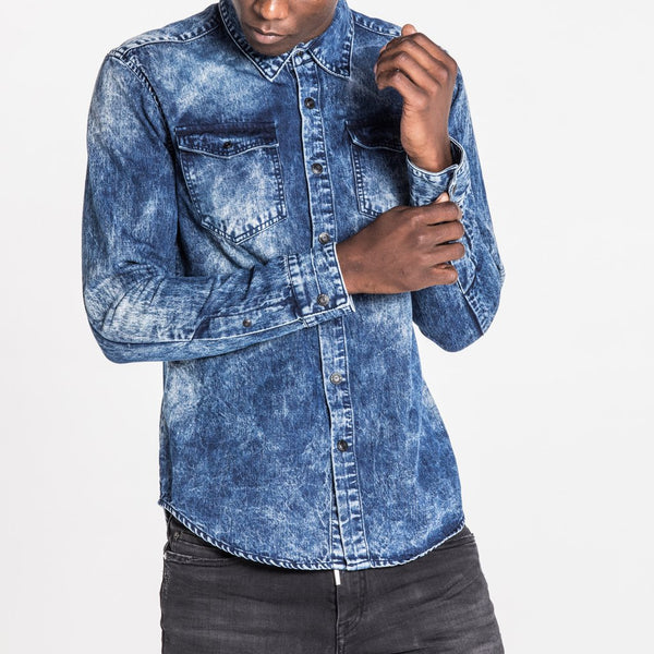 DENIM SHIRT - HAILSTONE