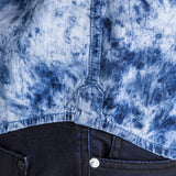 DENIM SHIRT - BLEACH OUT