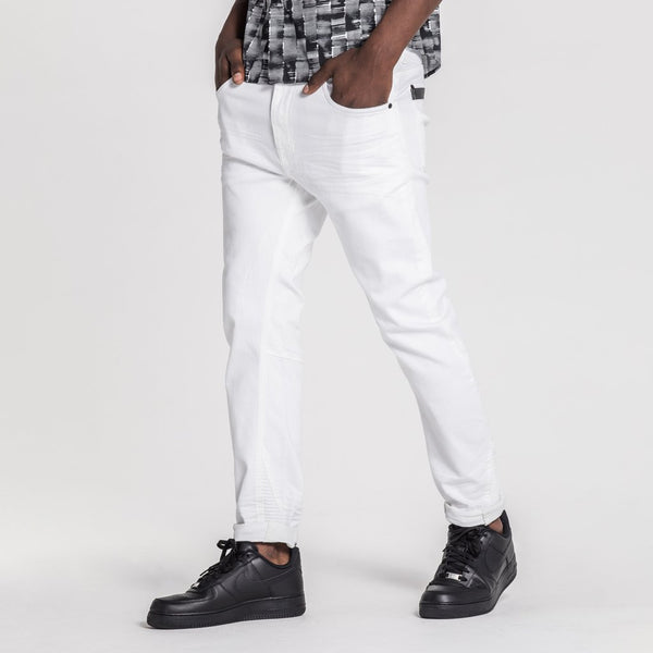 TYPE-T TAPERED JEAN - ALPS WHITE