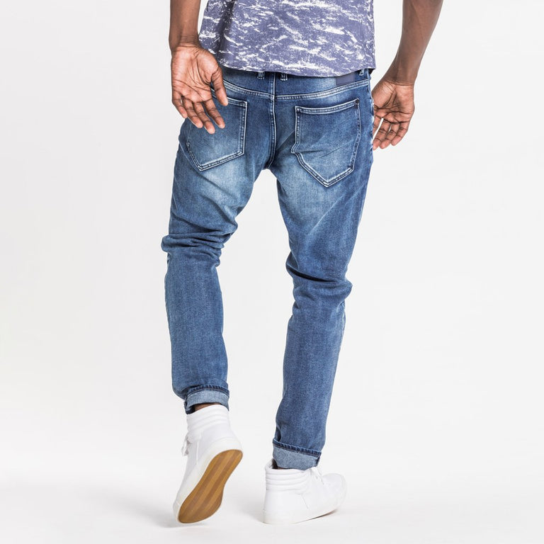 TYPE-T TAPERED JEAN - STEEL