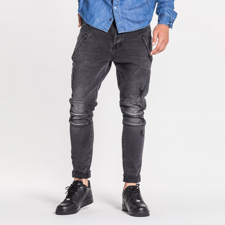 TYPE-T TAPERED PREMIUM JEAN - ASH