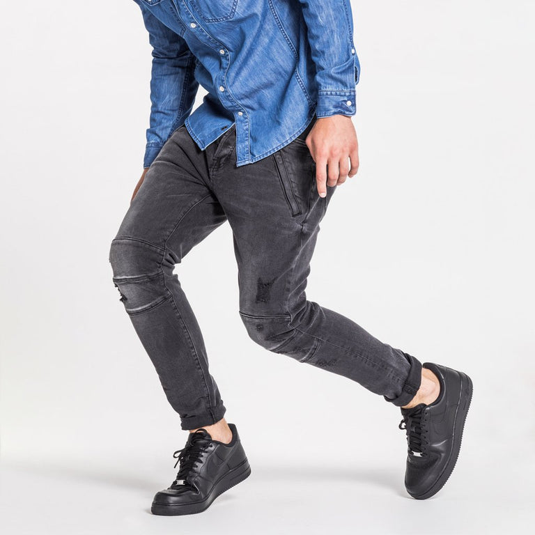 TYPE-T TAPERED JEAN - ASH